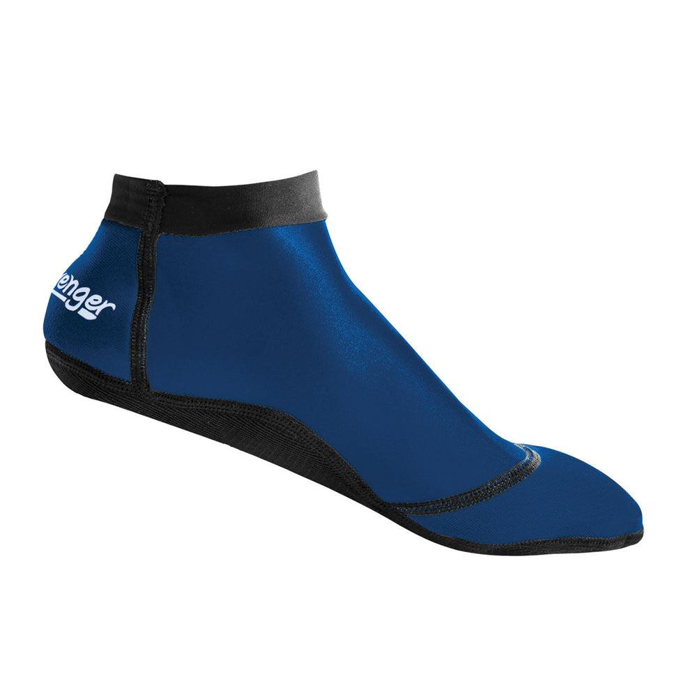 short dark blue beach socks for soccer and volleyball