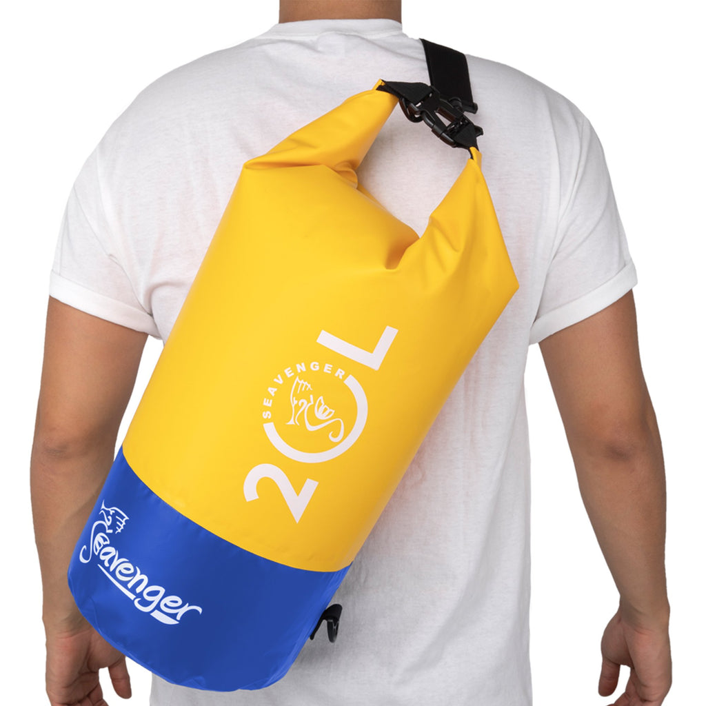 yellow 20L dry bag