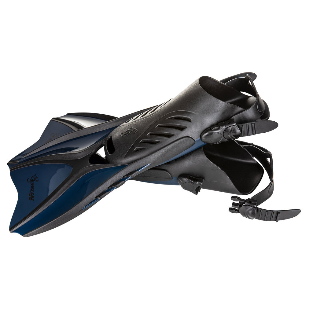Voyager Snorkeling Fins - Midnight Blue