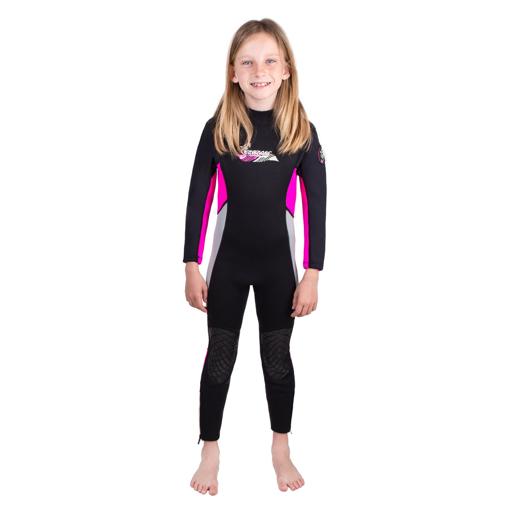 Kids 3mm Scout Wetsuit - Pink