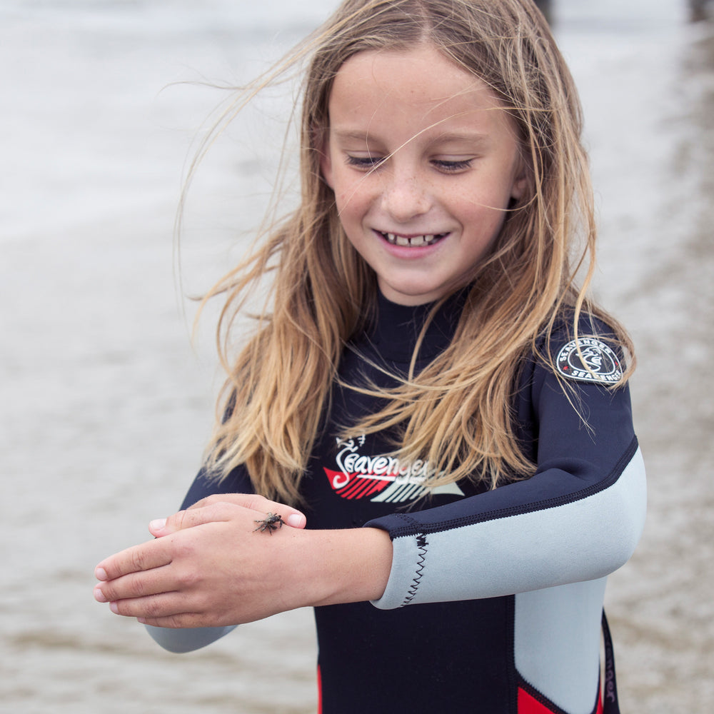 Kids 3mm Scout Wetsuit - Red