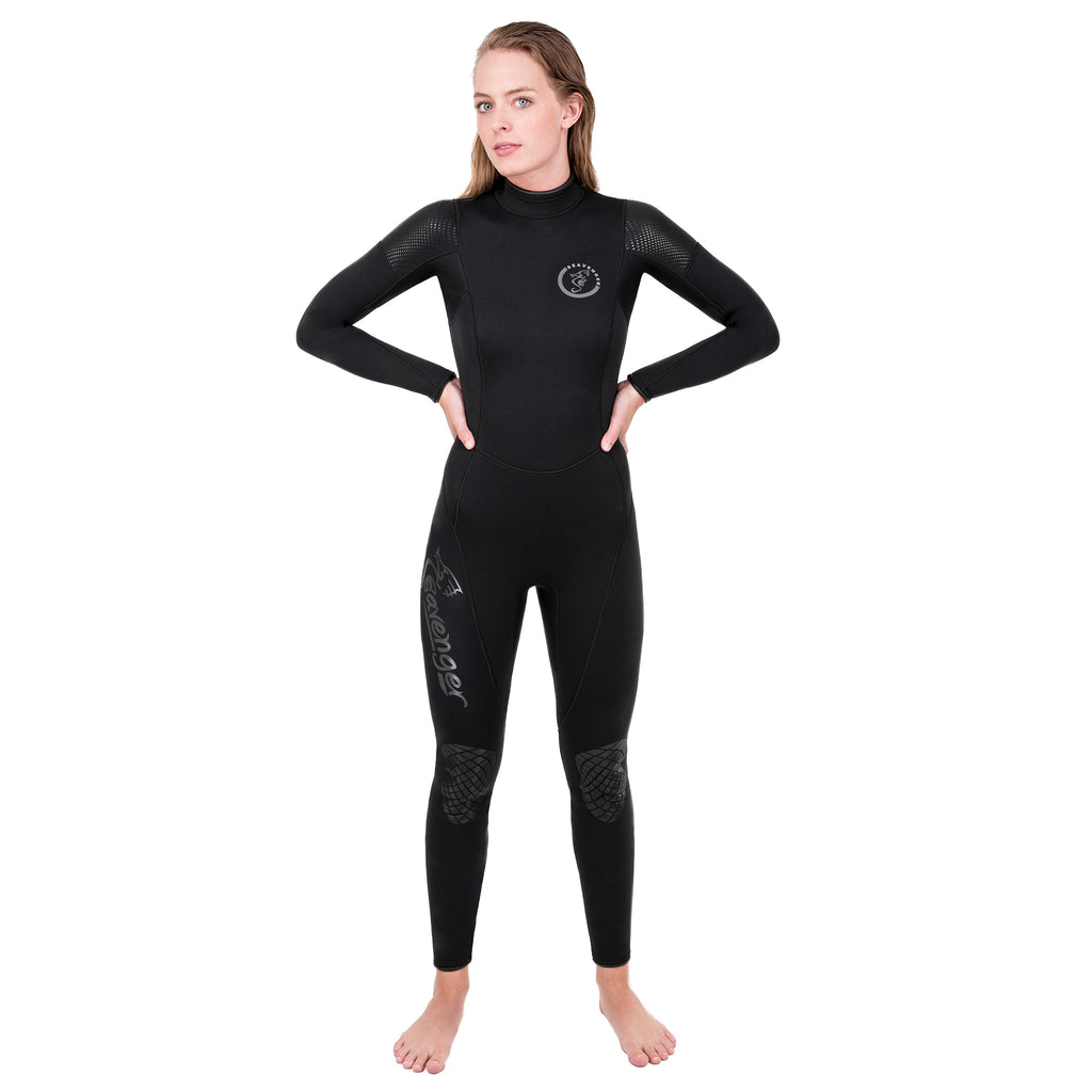 Alpha 3mm Women's Wetsuit - Black