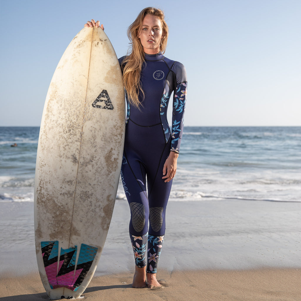 Alpha 3mm Women's Wetsuit - Dark Floral