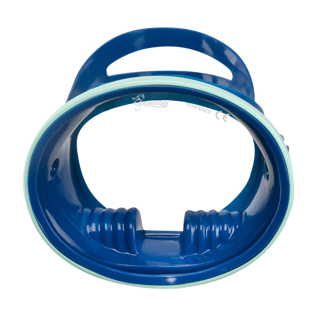 Hydra Oval Dive Mask - Cobalt/Mint