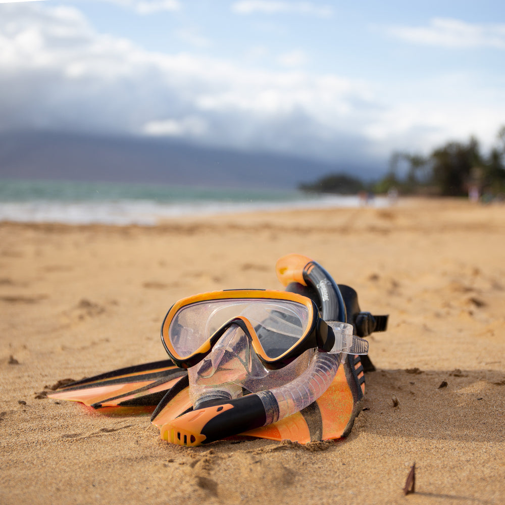 Voyager Snorkel Set - Orange