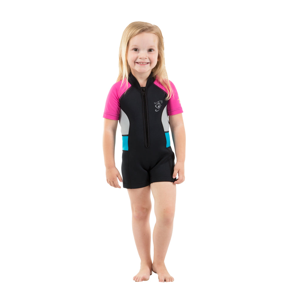 Cadet Kids' 2mm Neoprene Swimsuit - Pink