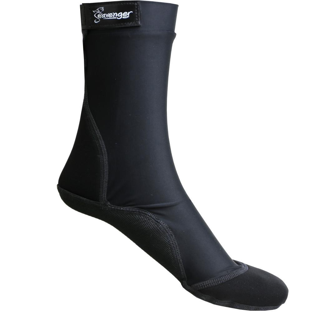 tall black beach socks for outdoor volleyball and soccer in the sand