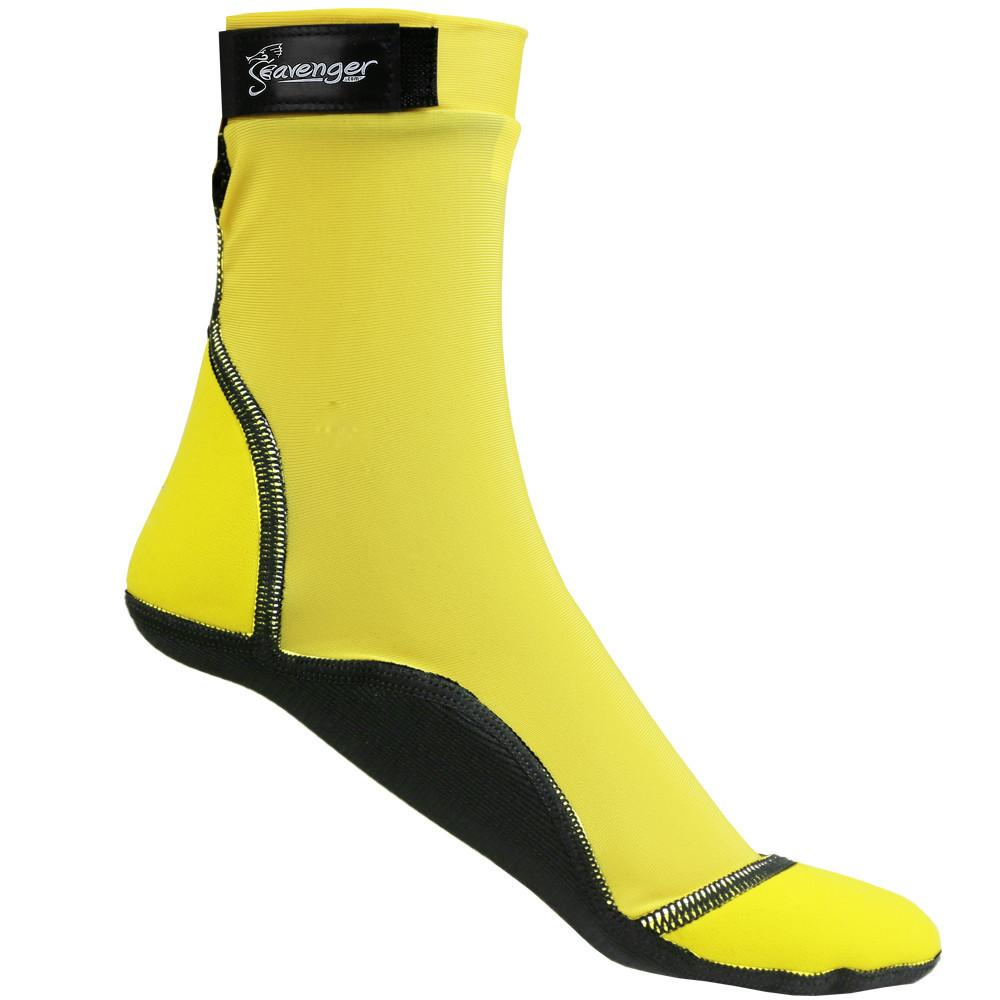 tall yellow beach socks for sand volleyball and soccer