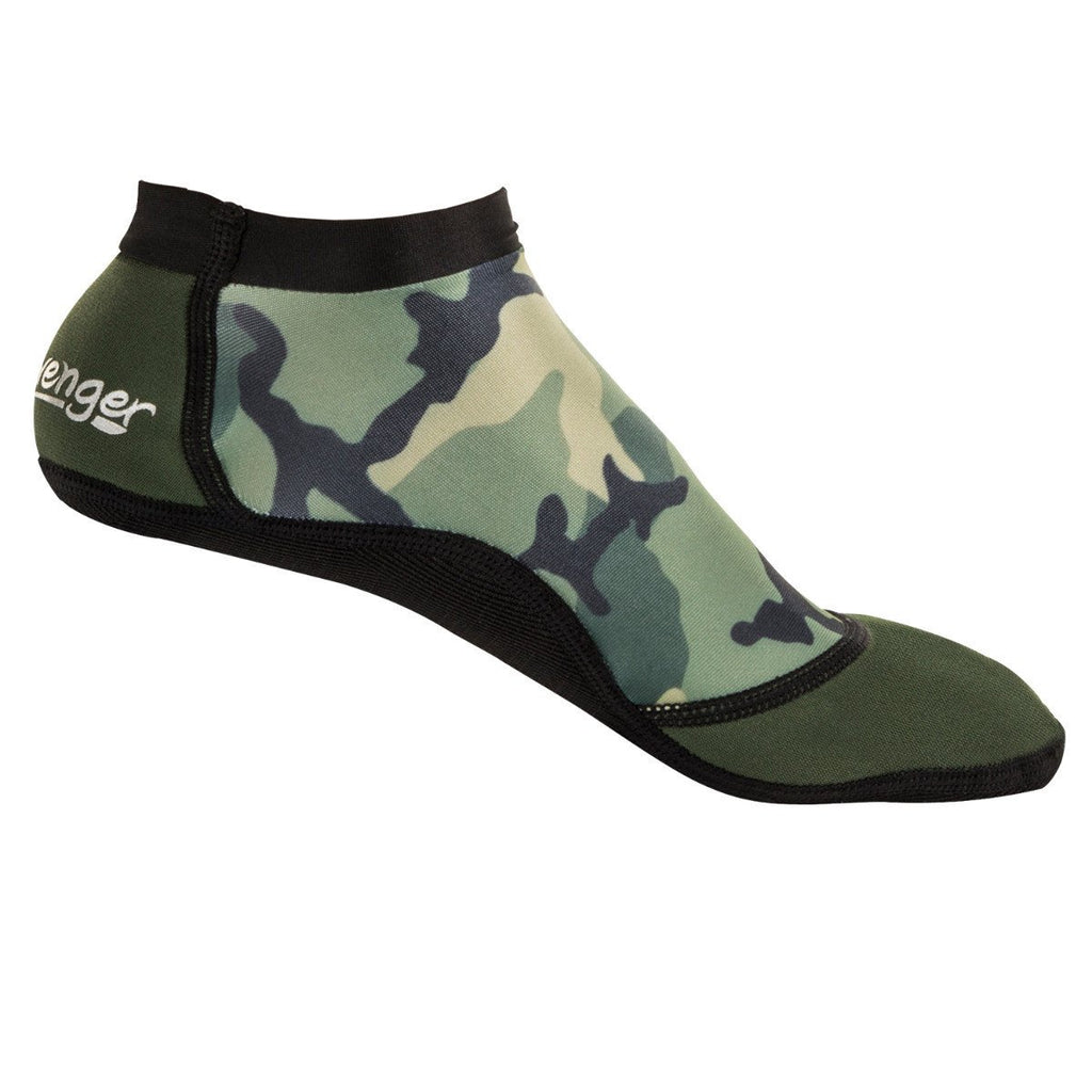 short camouflage beach socks for sand volleyball or soccer