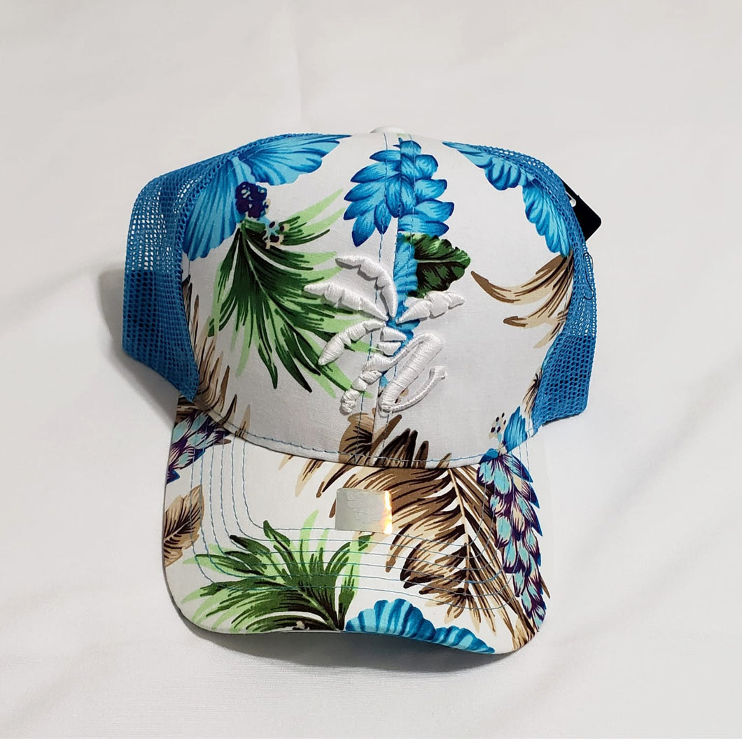 Tropical Blue Trucker cap