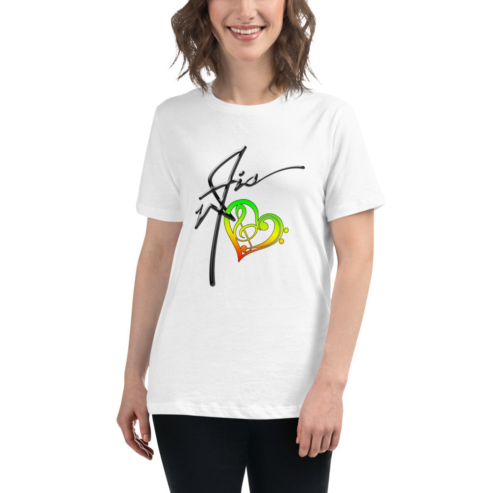 WAIS HeartBeat - Women's Relaxed T-Shirt