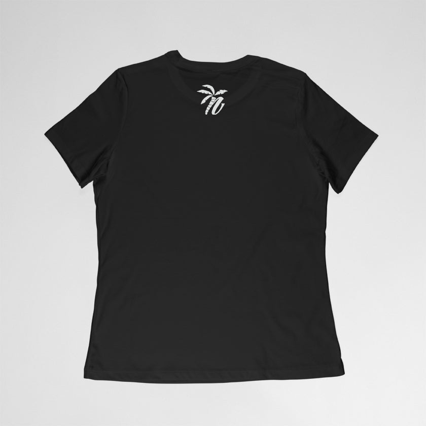 Womens Black Honu Unity T-shirt