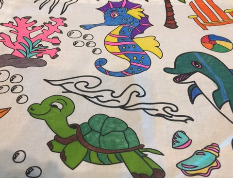 Oceantime Fun Tablecloth