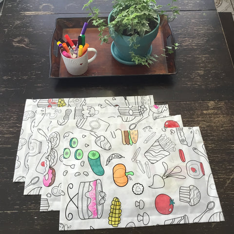 Food Fun Placemats
