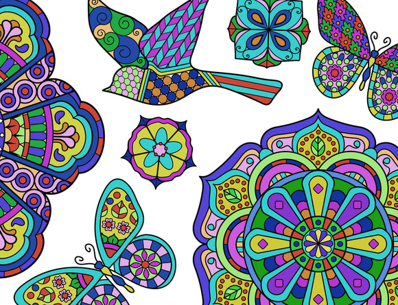Mandala Pillowcases - 2 Count