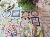 Frames Tablecloth