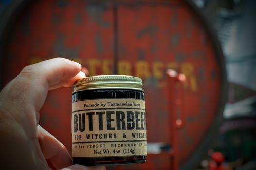 Tazmaneian Tame Butter Beer Pomade Firm Hold 4oz