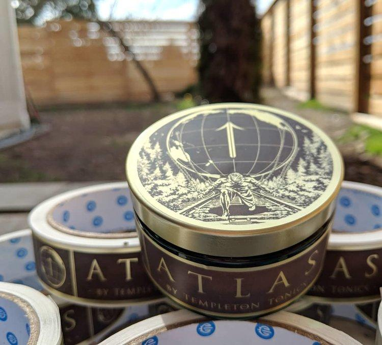 Templeton Tonics Atlas Pomade 4oz
