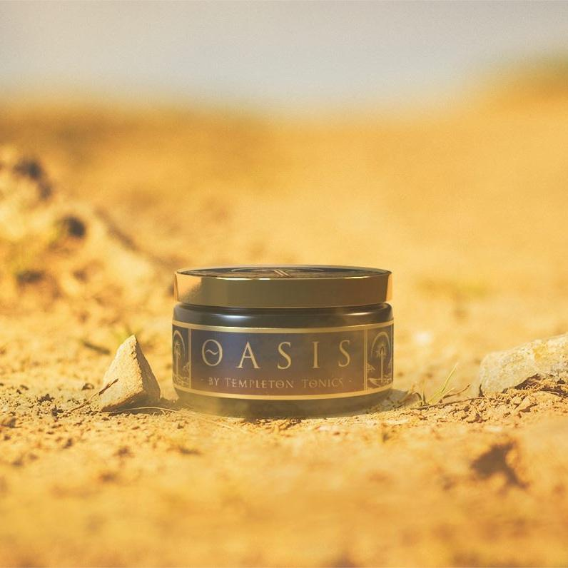 Templeton Tonics Oasis Clay Pomade 4oz ***Pre-order Now. Arriving April 15.***