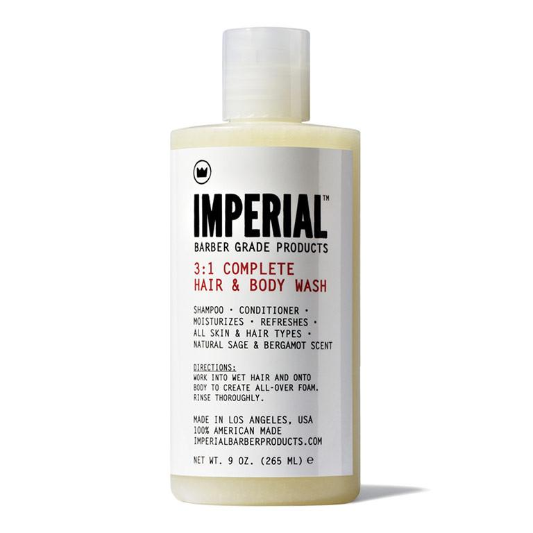 Imperial 3:1 Hair and body Shampoo 9oz