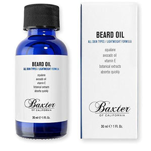 Baxter Beard Grooming Oil 30ml