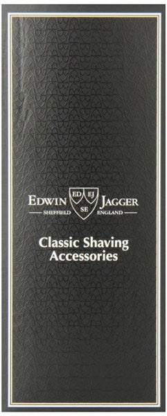 Edwin Jagger Best Badger Shaving Brush Ivory w/stand 1EJ877SDS