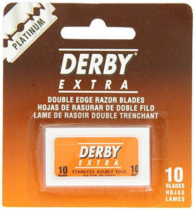 Derby Extra Platinum Double Edge Razor Blades 10ct