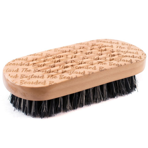 The Bearded Bastard Beard Brush