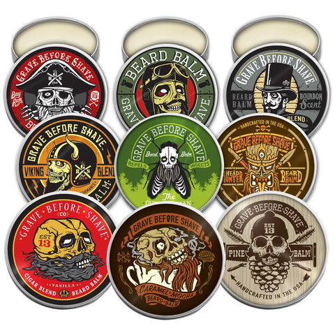 Grave Before Shave Beard Balms