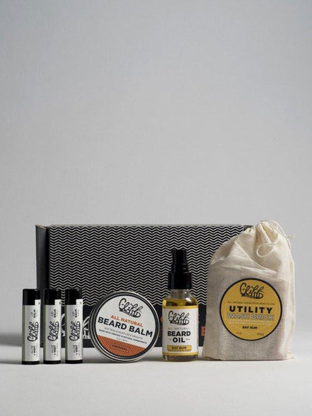 Cliff Original Beard Care Essentials Box in Bay Rum