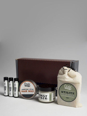 Cliff Original Hair + Skin Care Essentials Box in Mint