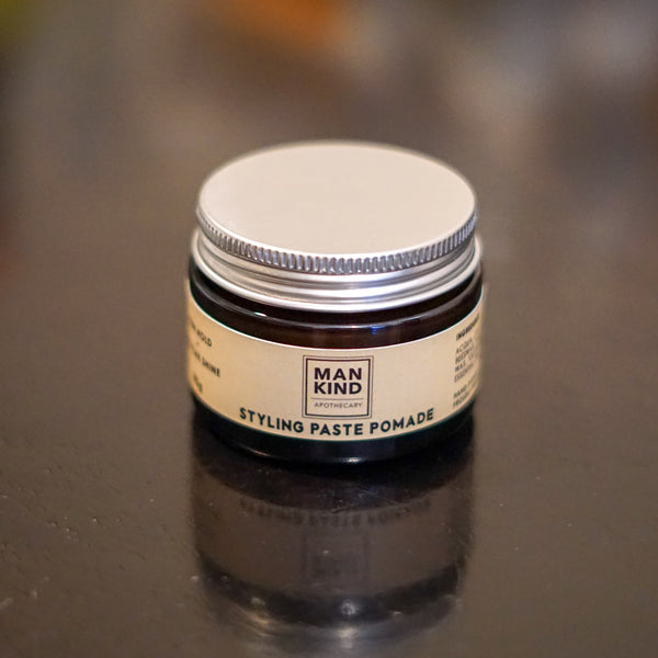 Mankind Apothecary Styling Paste Pomade Travel Size 50g