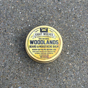Eight Wolves  Woodlands, Beard & Moustache Balm