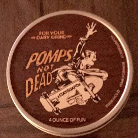 Pomps Not Dead The Daily Grind Pomade 4oz