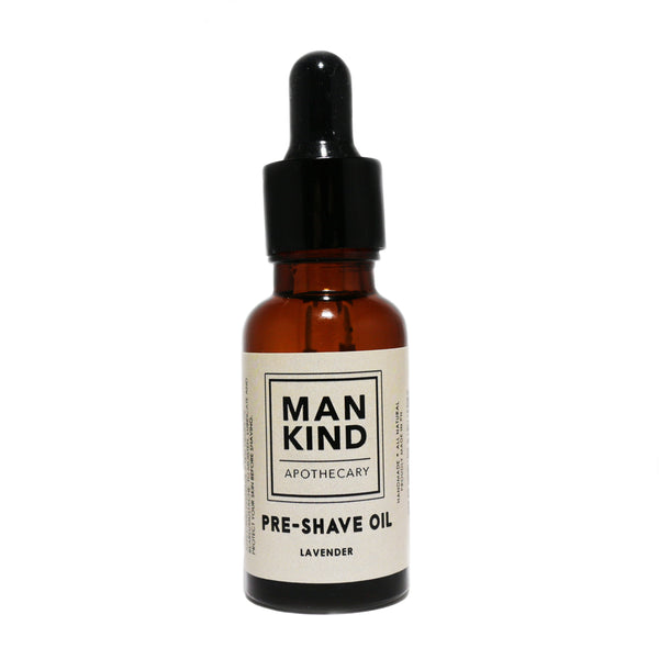 Mankind Apothecary Pre-Shave Oil 20ml