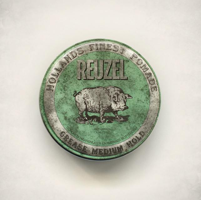 Reuzel Green Medium Hold Grease 1.3oz