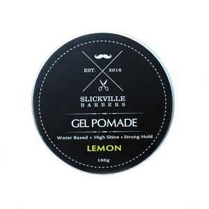 Slickville Lemon Gel Pomade 100g
