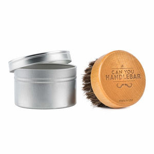 Can you Handlebar Beard Oil Brush with Travel Case