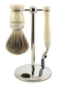 Edwin Jagger Mach 3 3pc Shaving Set Ivory S81M71711