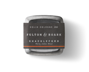 Fulton & Roark Shackleford Solid Cologne .2oz