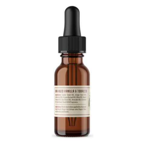 Rockriver Beard Oil - Oak Aged Vanilla & Tobacco 1oz