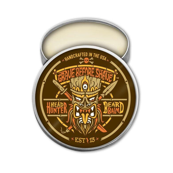 Grave Before Shave Head Hunter Beard Balm 2oz