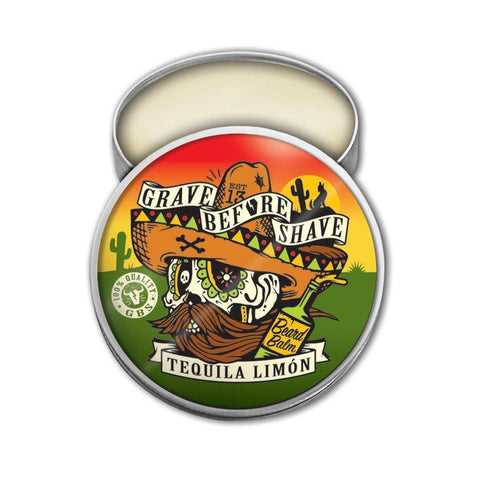 Grave Before Shave Tequila Limon Beard Balm 2oz