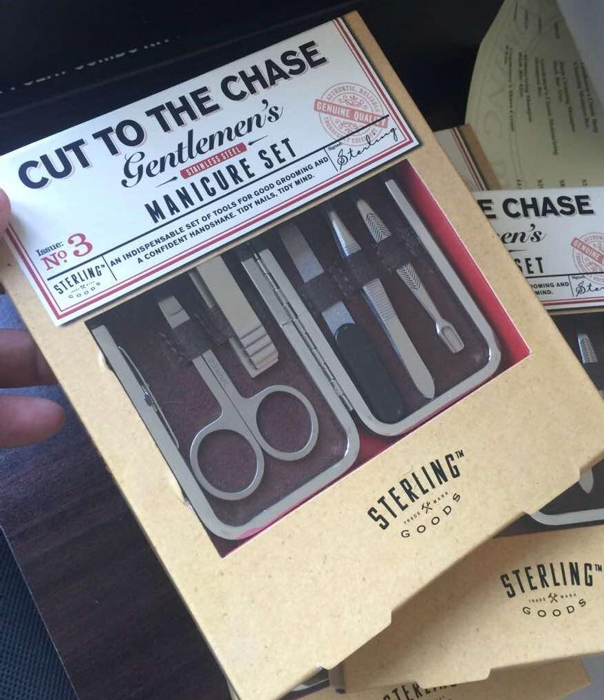 Cut To The Chase Manicure Set