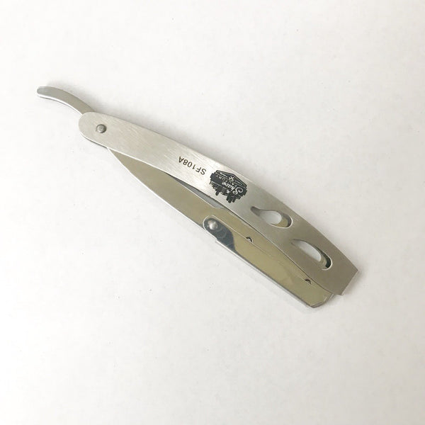 Straight Razor Metal Matte Finish