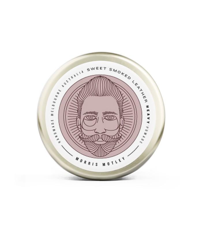 Morris Motley Sweet Smoked Leather Heavy Pomade100g