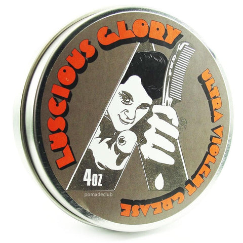 Pomps Not Dead Luscious Glory Ultraviolet Pomade 4oz