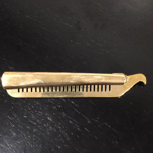 Folding Comb Pure Brass