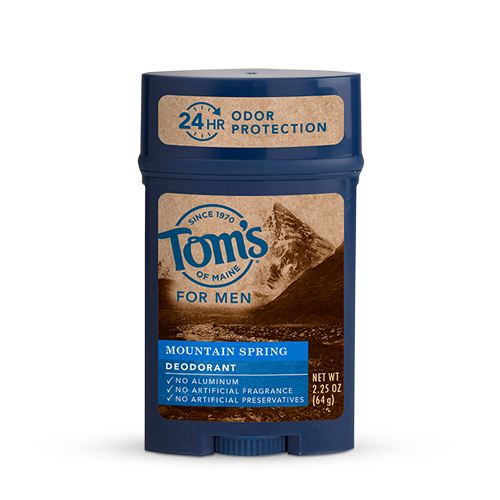 Tom's Of Maine Stick Deodorant Mountain Spring 2.25oz