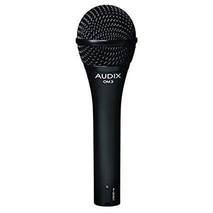 Audix OM3 Dynamic Microphone Spokane sale Hoffman Music 687471101063